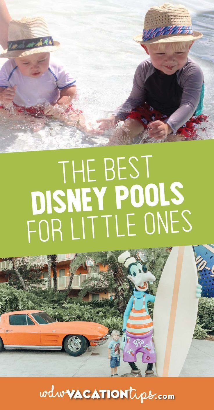 We've stayed at a handful of Disney resorts and have toured some resorts to find the best pools around. In no set order here are some of the best Disney resort pools for babies and toddlers.#disneykids #wdwvacation