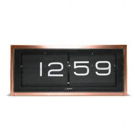 LEFF - BRICK Copper - clock