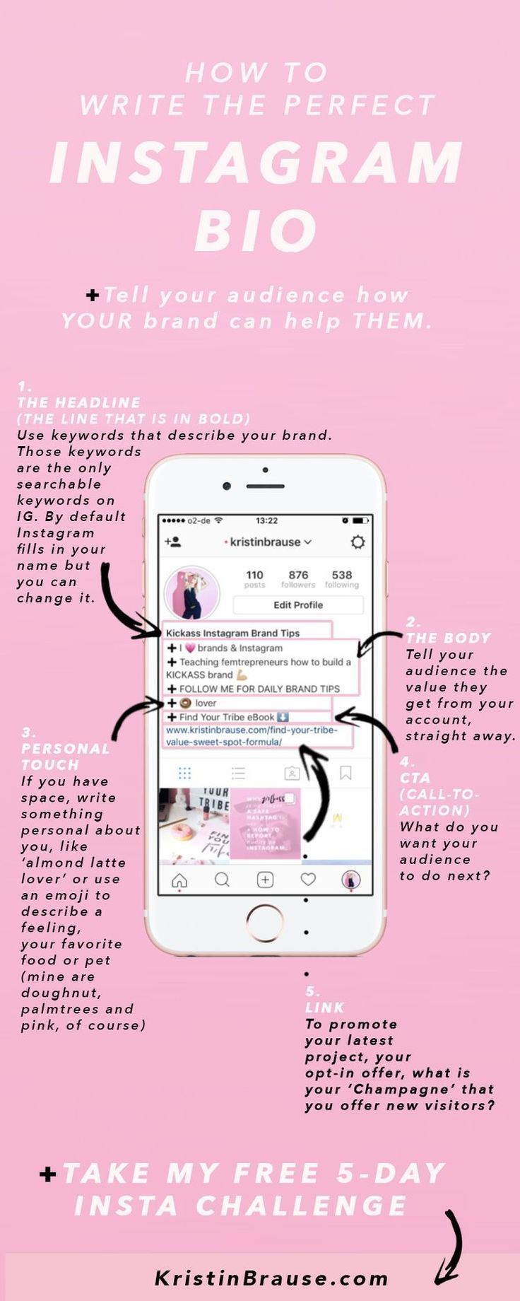 How to write the perfect Instagram bio and tell you