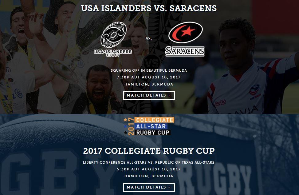 Atlantic Rugby Cup 2017 Bermuda URugbyFootball djcoil