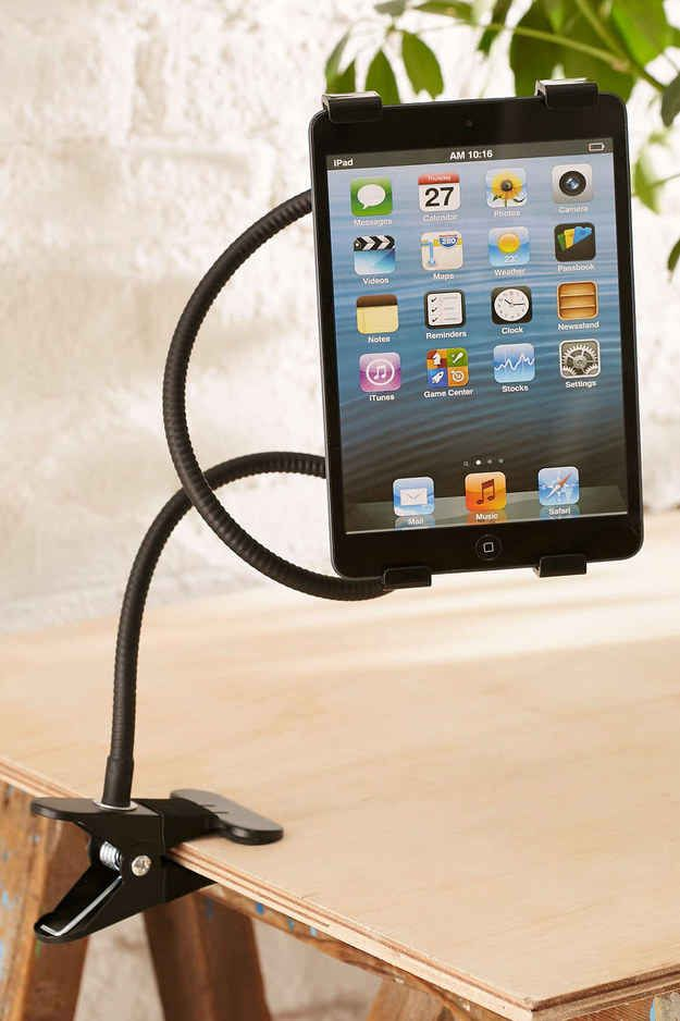 35 Insanely Awesome And Inexpensive Things You Need For Your Desk Tablet Holder Tech Gifts Techno Gadgets