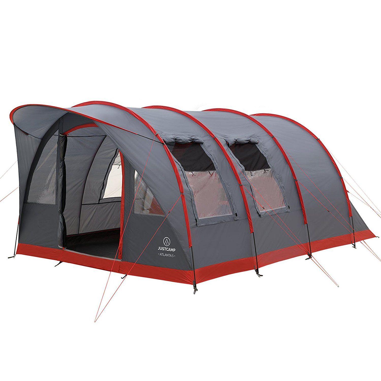 Justcamp Atlanta 5 Tente De Camping 5 Places Tentes Dome 475 X 305 X 205 Cm Amazon Fr Sports Et Loisirs Camping Tente Tente Dome Camping