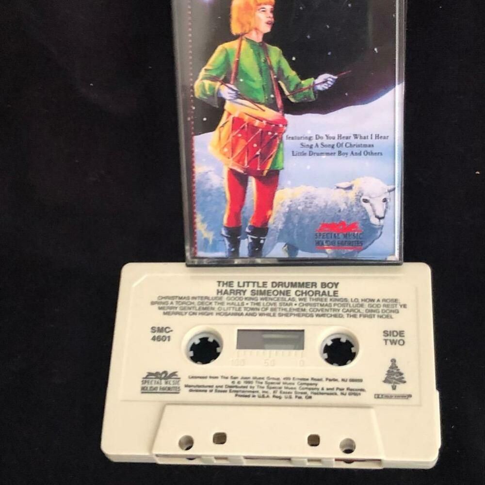 Christmas With The Childrens Chorale 2020 The Little Drummer Boy Christmas Cassette Tape Harry Simeone