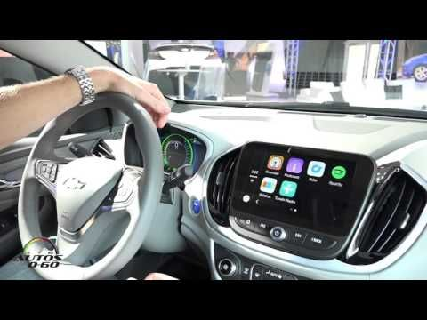 2016 Chevrolet Volt Connected Services and Apple Car Play