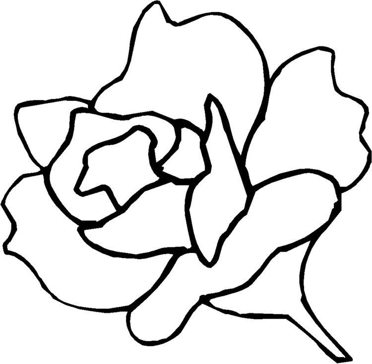 wandschablonen-ausdrucken-rose-blume-vorlage-kostenlos | Malen in ...