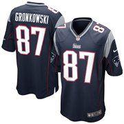 Nike Rob Gronkowski New England Patriots Youth Game Jersey Navy Blue Gronkowski Jersey New England Patriots Game Jersey Patriots