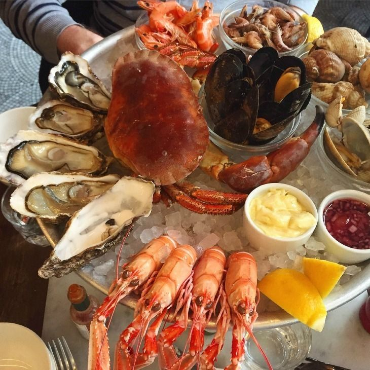 Despite Its Inland Location London Has Many Great Seafood Restaurants With Fresh Delivered From The Coast Daily