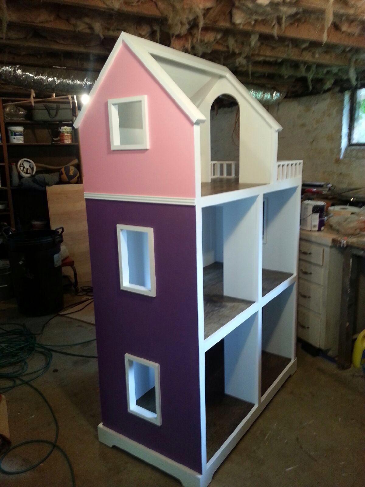 Handmade Dollhouse For 18 Inch Dolls Perfect For American Girl