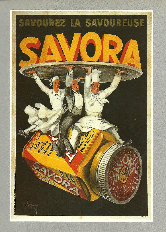 food vintage french color advertisement poster cook. Black Bedroom Furniture Sets. Home Design Ideas