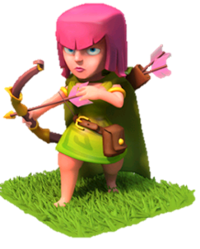 Archers Clash of Clans - Android Galaxy