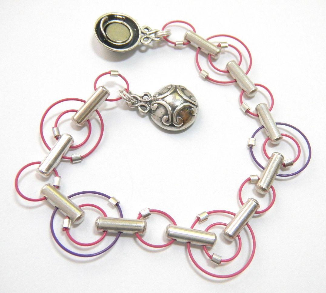 Free DIY Colored Wire Bracelet Idea by Jamie Hogsett | Crafting ...
