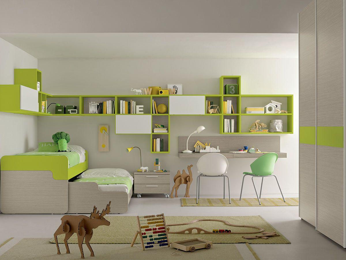 camera completa bambini   ArredissimA Camerette nel 2019 ...