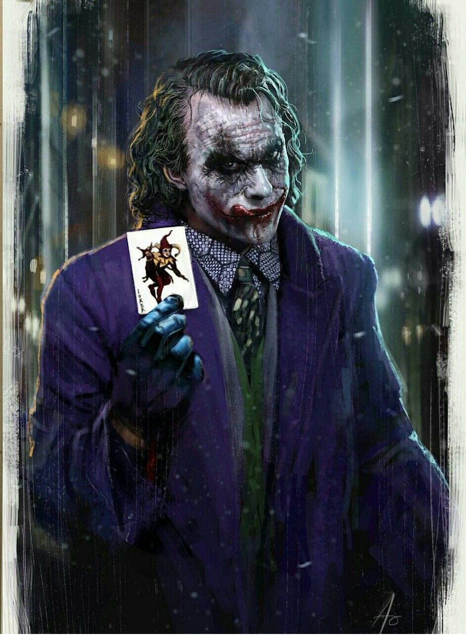 Heath ledger as the Joker by Rudy Ao Joker wallpapers