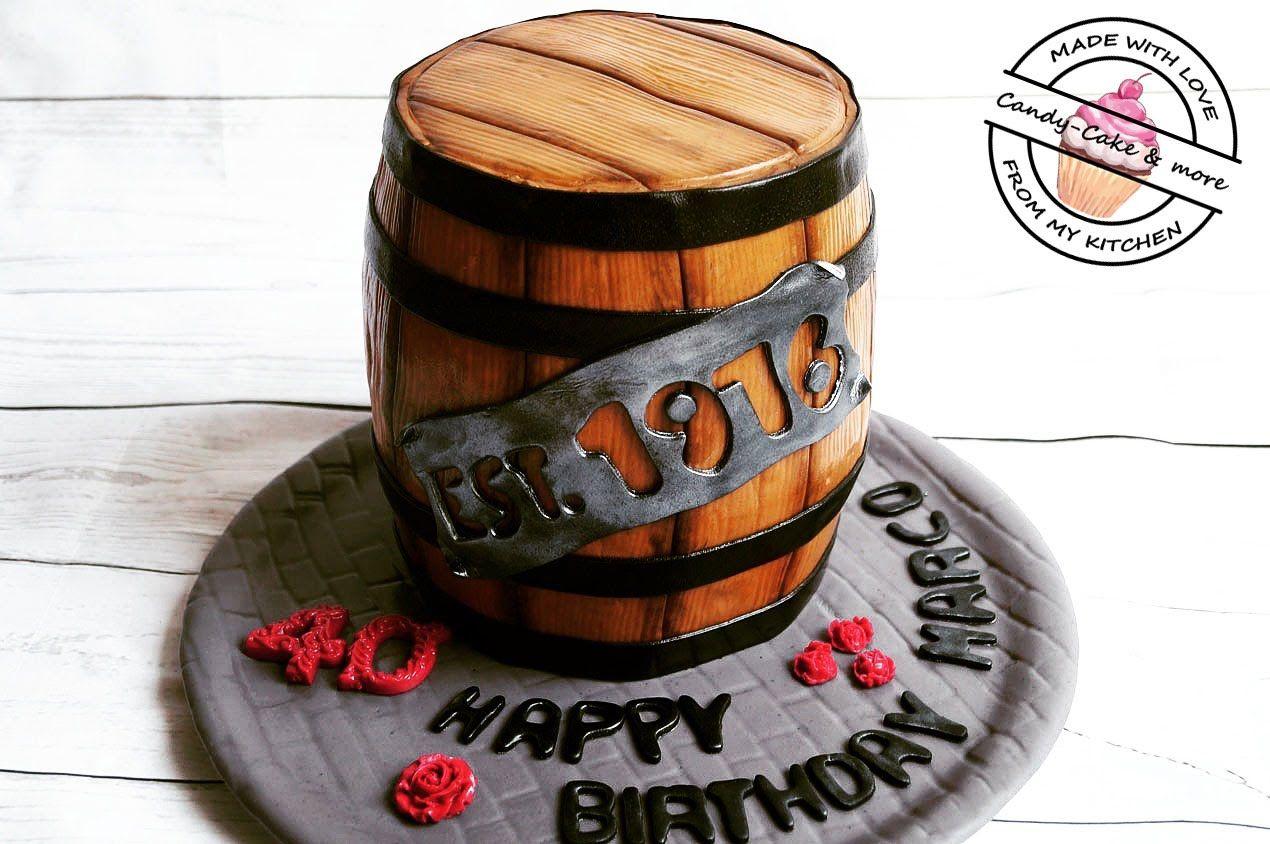 fasstorte barrel cake whiskyfasstorte bierfasstorte motivtorte fass pinterest. Black Bedroom Furniture Sets. Home Design Ideas