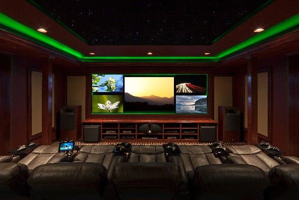 20 Of The Most Tech Savvy Media Room Ideas
