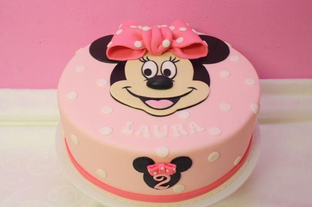 Minnie Mouse- Geburtstagstorte