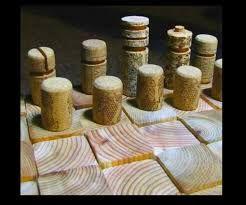 Resultado de imagen para ajedrez con corchos
