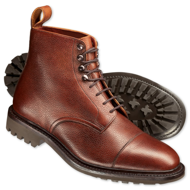 Men's fashion · Burgundy Willmoth Toe Cap Boot