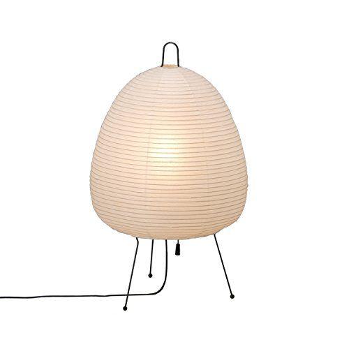 Isamu Noguchi Akari 1a Standing Light Washi Paper Lamp Shade