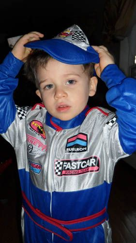 After Dressing Up Your Children With This Race Car Driver Costume