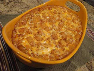Keeping up with the Kitchen Mom: Texas Tater Casserole