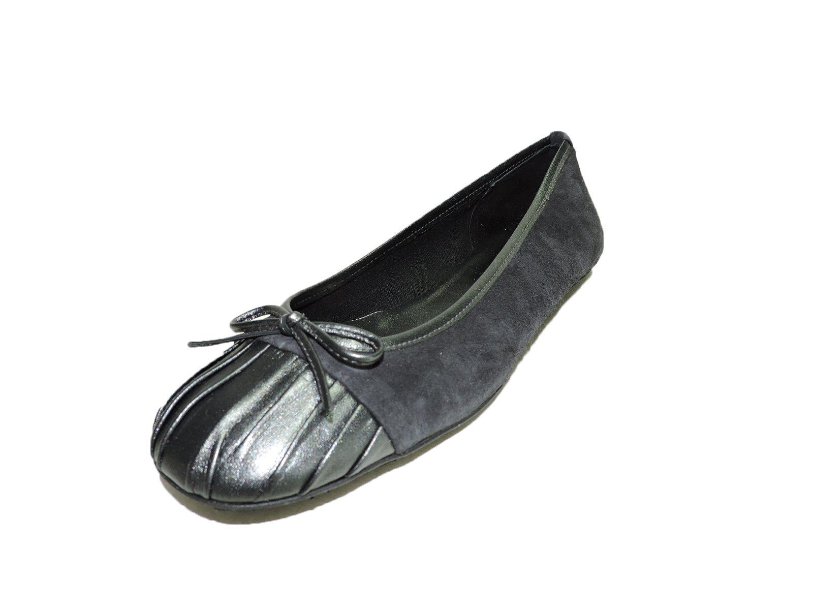 French Sole Fs/ny Women's Hiphop Black Suede, Quilted Toe Toe ... : french sole quilted ballet flats - Adamdwight.com