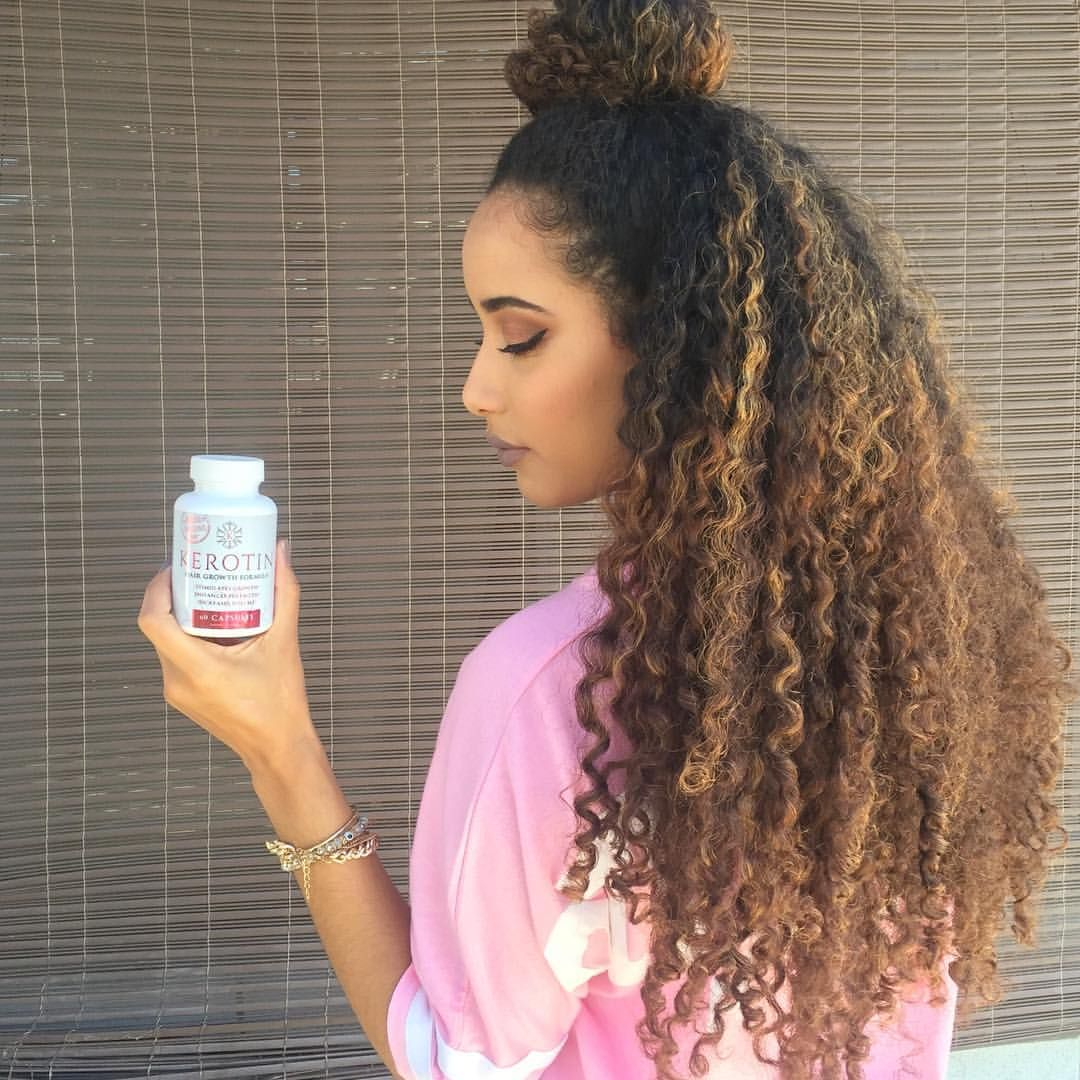 See This Instagram Photo By Leximarcellaa Colored Curls Long
