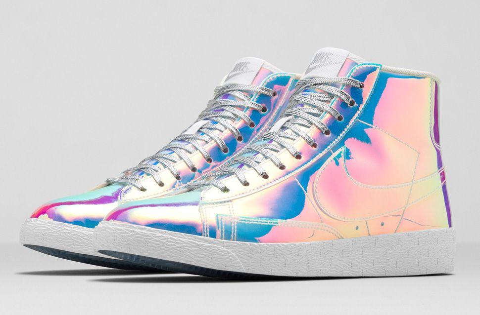 Femmes Nike Blazer Mid Paillettes Irisées Premium