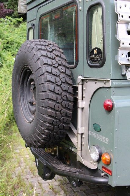 Tembo 4x4 Rear Bumper And Spare Wheel Carrier Land Rover Defender