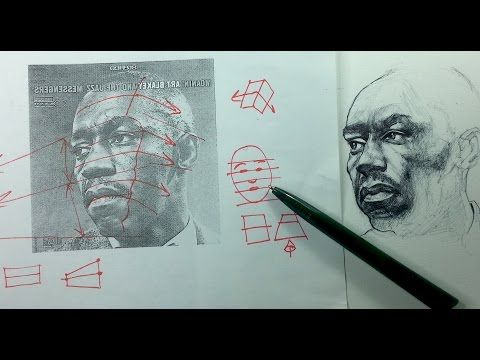 4 portrait drawing tips how to keep both sides of your drawing