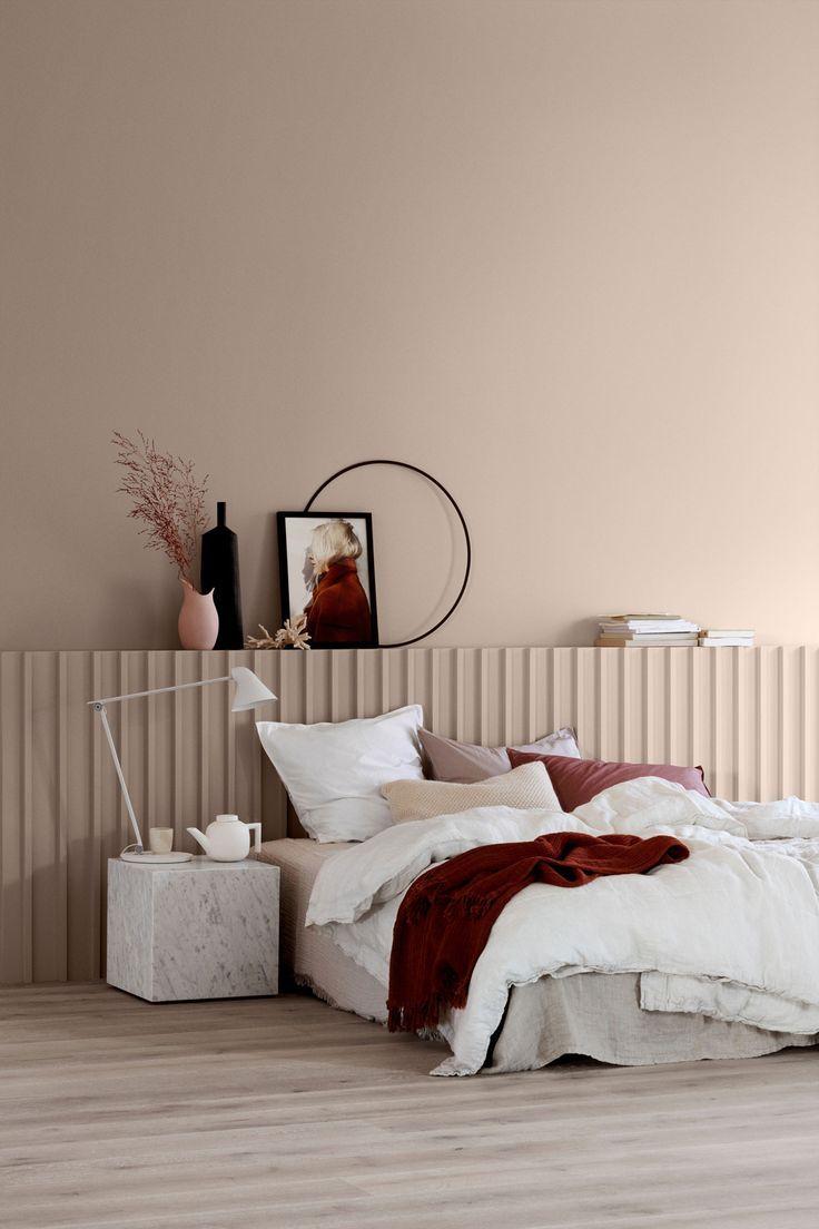 Deecoration en nuance de rose camaïeu dans la chambre parentale Cette année, l… #chambreparentale