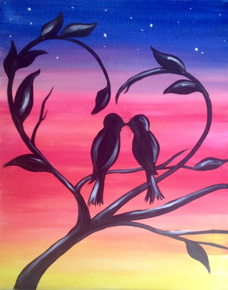 Image Result For Easy Paint Night Ideas Painting Class Ideas