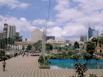 The City Nairobi City Africa Travel Nairobi