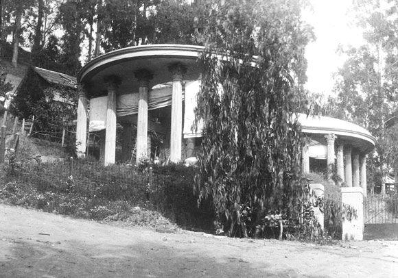 Temple of the Wings, Berkeley 1911