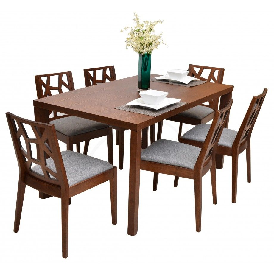 Commodity juego de comedor tmh239 2025t madera for Juego de comedor madera 6 sillas