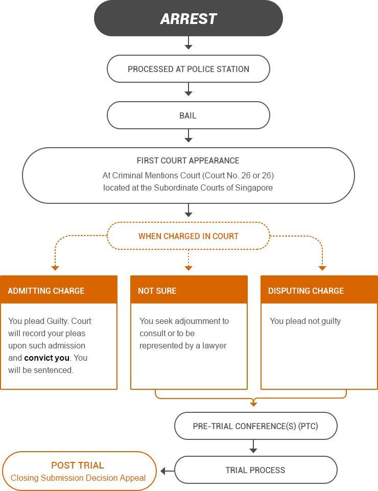 Arrest criminal procedure studying law