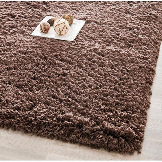 Hand Woven Rug Offers Luxurious Comfort In A Chocolate Color High Density Acrylic Provides One Of The Most Plush Piles Available Casual