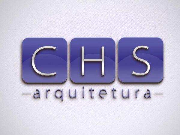 Logotipo-CHS-Arquitetura-criacao-de-logotipo