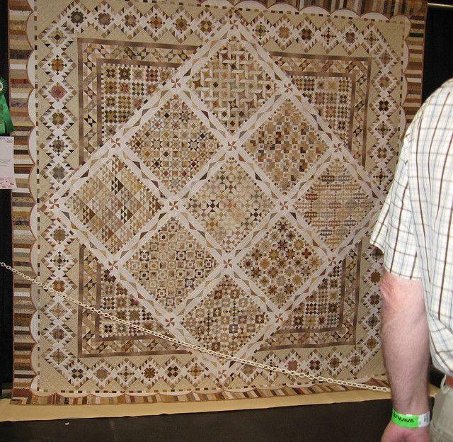 Neutrals by Carol Stapleton | Neutral quilt, Patchwork and ... : san mateo quilt show - Adamdwight.com