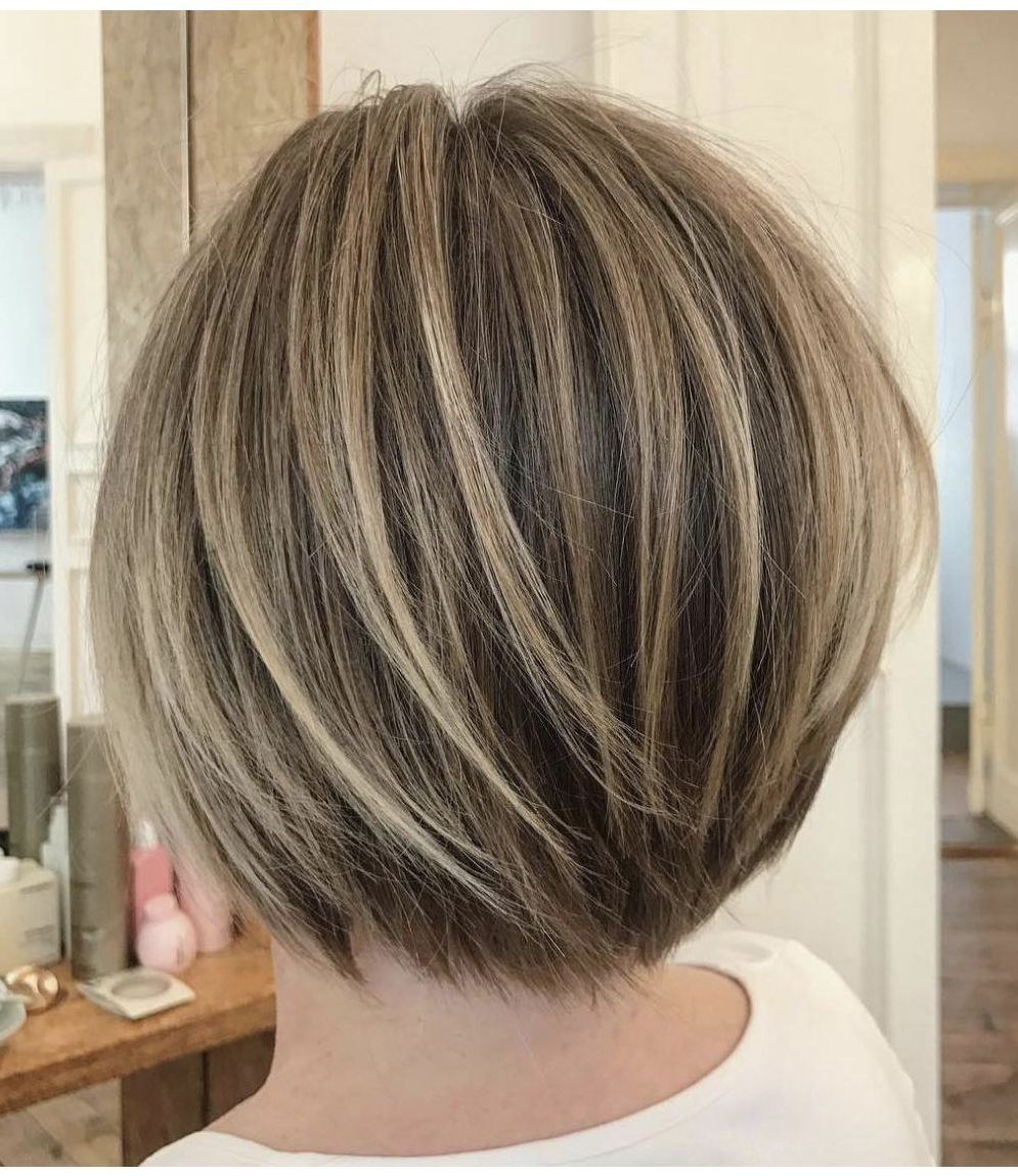 Layered Bob Hairstyles For Fine Thin Hair 4
