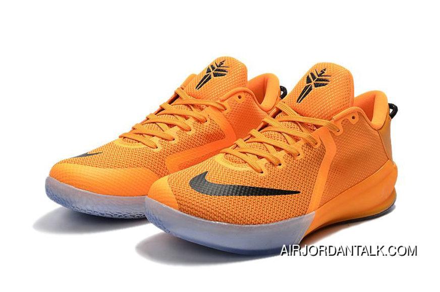 2020 的 Nike Kobe Venomenon 6 Ep Orange Yellow Black Nba