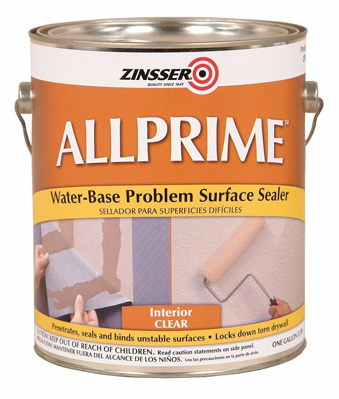Zinsser Allprime Gardz Problem Surface Sealer 1 Gallon Paint Supplies Sealer Surface