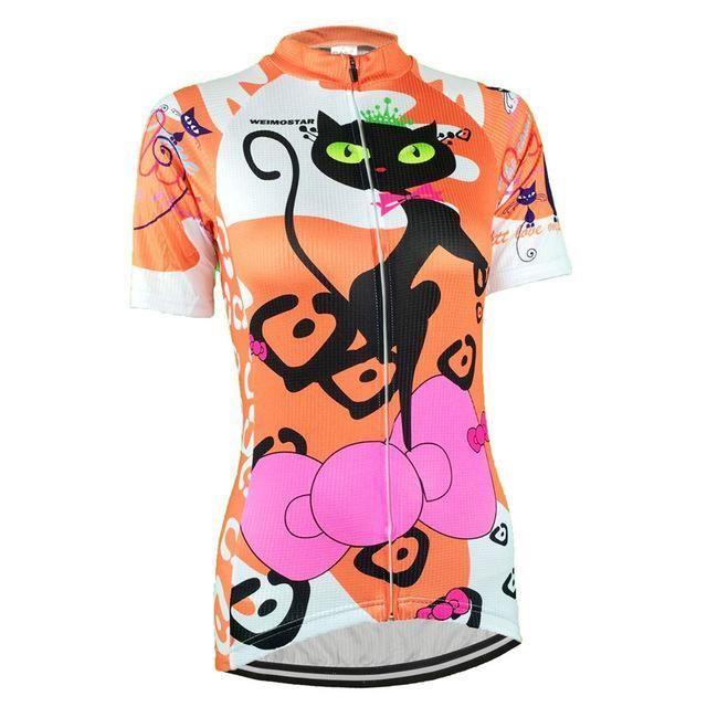 Bike Team Cycling Jersey Tops Womens Short Sleeve Bike Jersey Shirt Wear  Summer Bicycle Cycling Bicycle 314598265