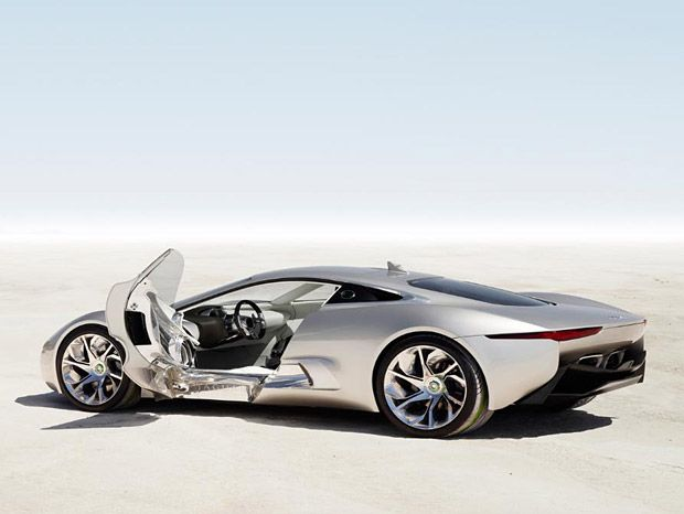 Jaguar C X75 Going To Production It Could Body Double As A Lotus And Ears Have The Snout Of An Aston Martin But This New Two Door Coupe Is