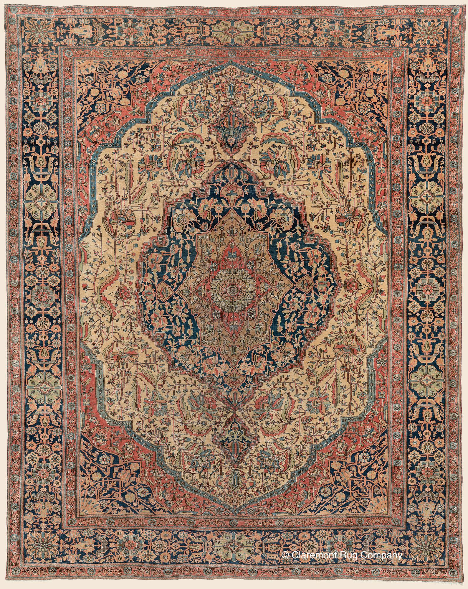 Claremont Rug Company S 2018 Year End Overview Persian Rug Designs Antique Rugs Rugs On Carpet