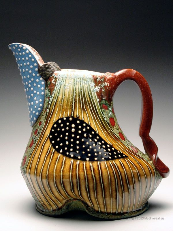Mud fire Gallery | Ronan Peterson Pitcher at MudFire Gallery