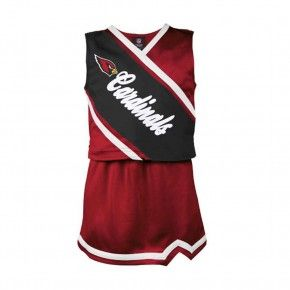Arizona Cardinals 101 Holiday Gift Ideas:  Arizona Cardinals Toddler 2pc Cheerleader Set $42.00