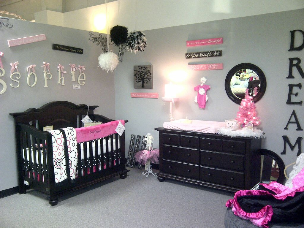 Baby Schlafzimmer ~ Suitedreamsforkids pink and gray baby room idea baby