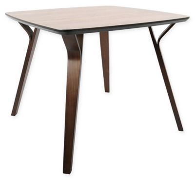 Lumisource Folia Dining Table In Brown With Images