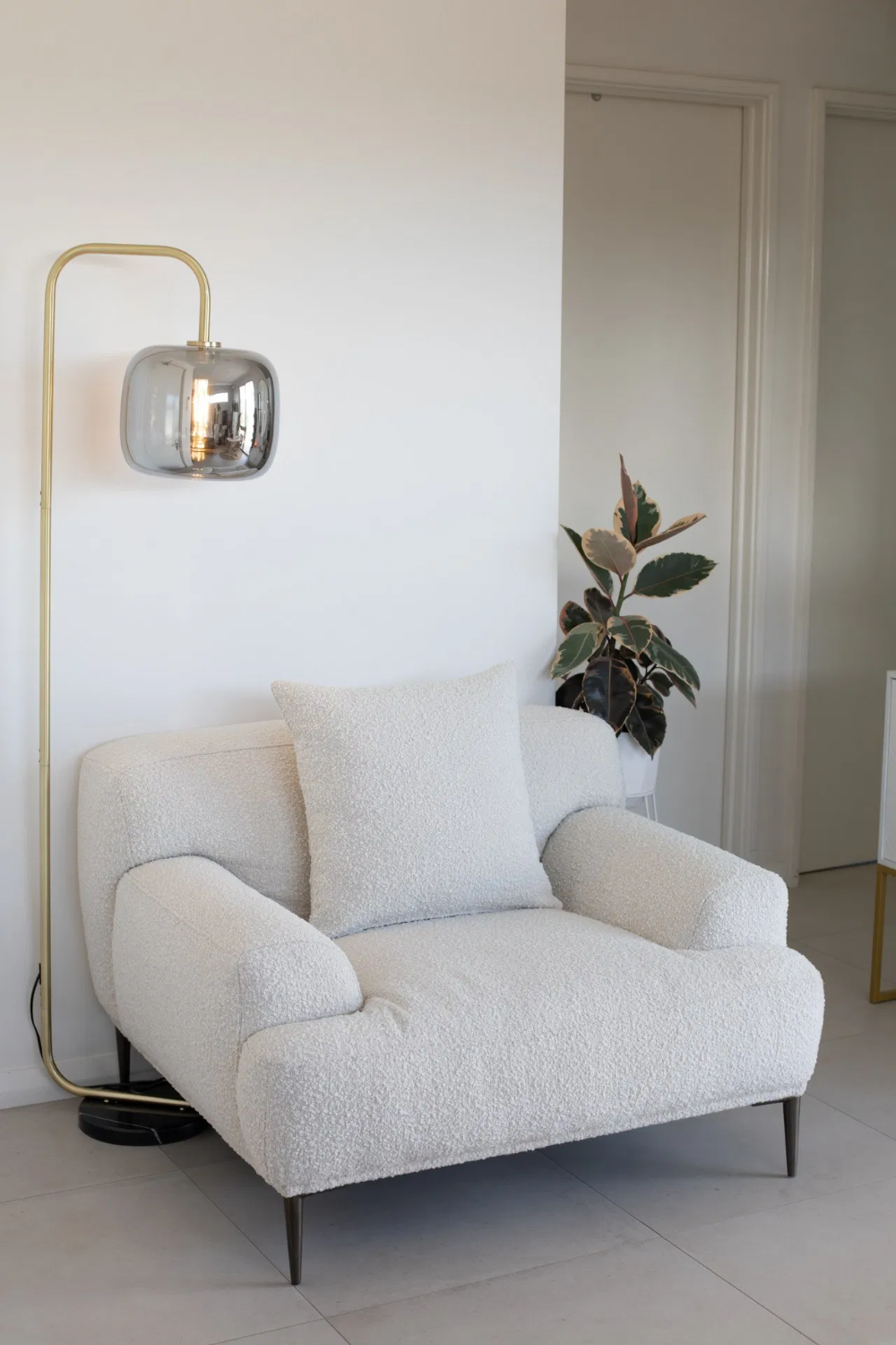 BOUCLE CHAIRS - COSY LOUNGE ARMCHAIRS YOU WILL LOVE